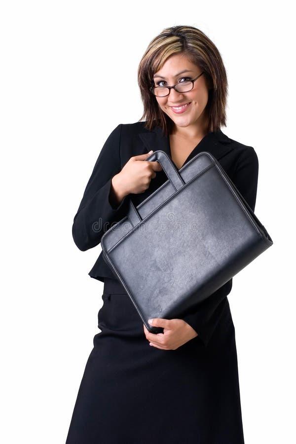 szczęśliwa kobieta jednostek gospodarczych obrazy royalty free