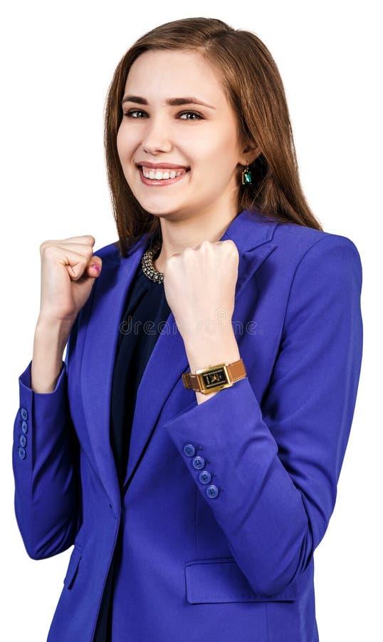 szczęśliwa kobieta uśmiechnięta obrazy stock