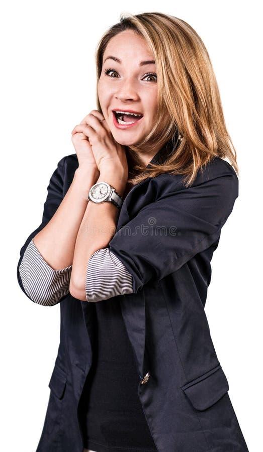 szczęśliwa kobieta uśmiechnięta zdjęcia royalty free