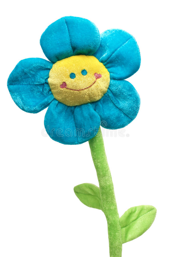 szczęśliwa kwiat zabawka obraz royalty free