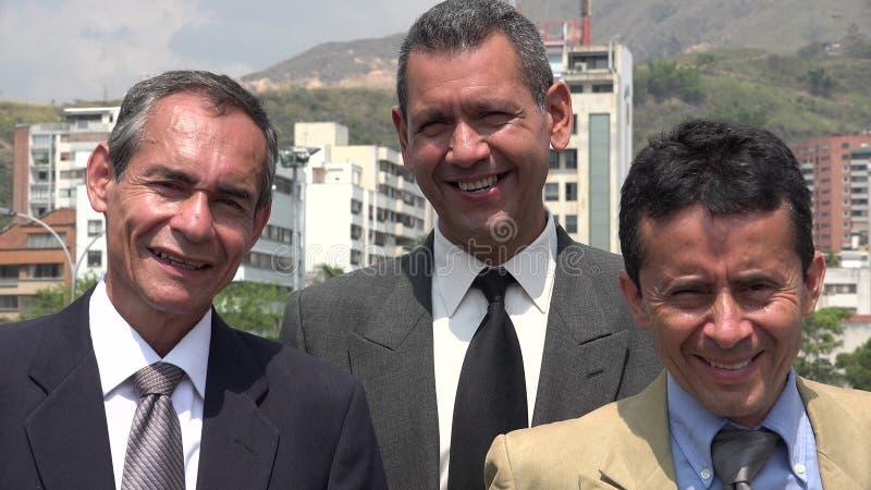 Szczęśliwa Latynoska biznes drużyna zdjęcie stock