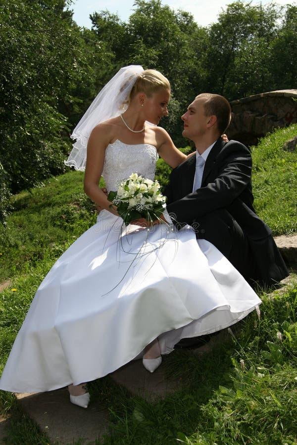 szczęśliwa mężatka zdjęcia royalty free