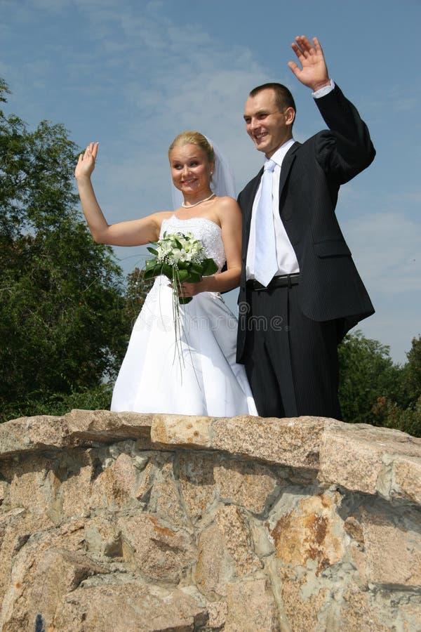 szczęśliwa mężatka zdjęcie stock