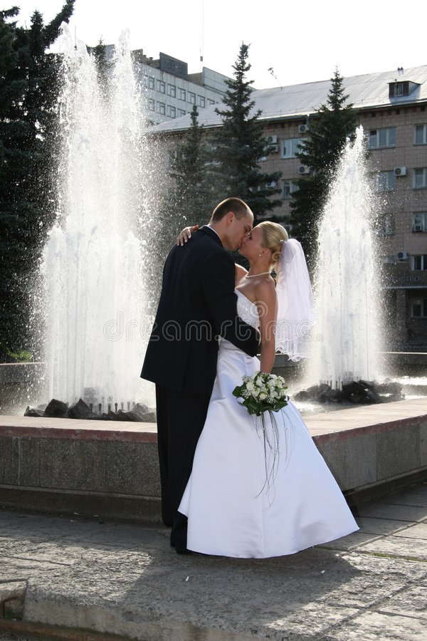 szczęśliwa mężatka zdjęcie royalty free