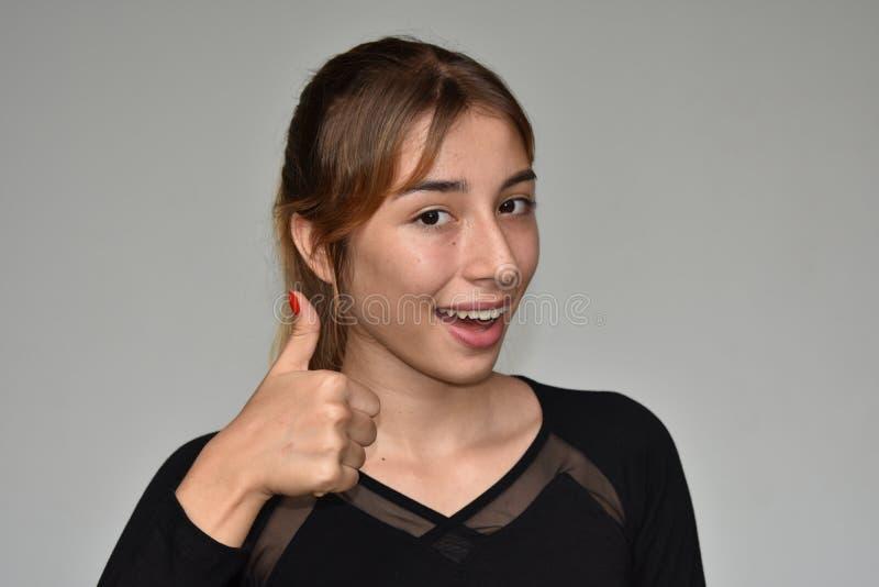 Szczęśliwa Młodociana dziewczyna zdjęcia stock