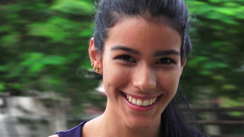 Szczęśliwa Młodociana Kolumbijska osoba obraz royalty free