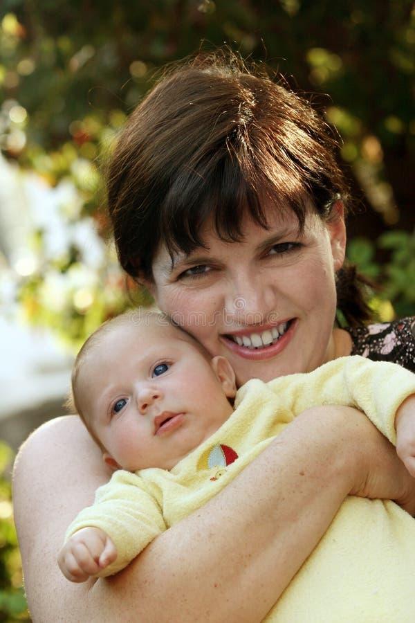 szczęśliwa matka zdjęcia stock