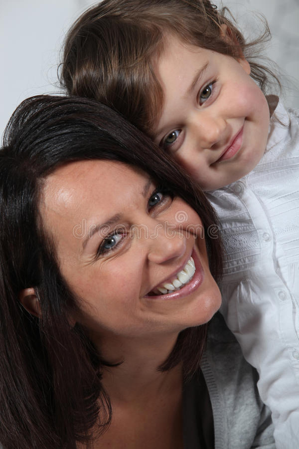 Szczęśliwa matka i syn obrazy royalty free