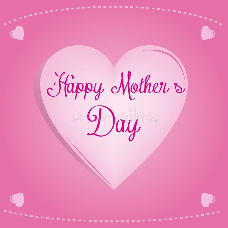 szczęśliwa matka jest dzień ilustracji