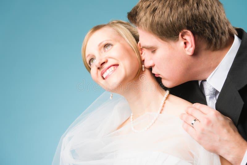 Szczęśliwa para obrazy royalty free
