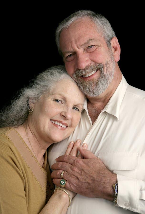szczęśliwa para dojrzewają razem obrazy royalty free