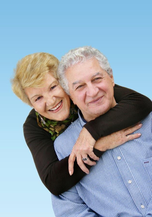 szczęśliwa para dojrzewania zdjęcie royalty free