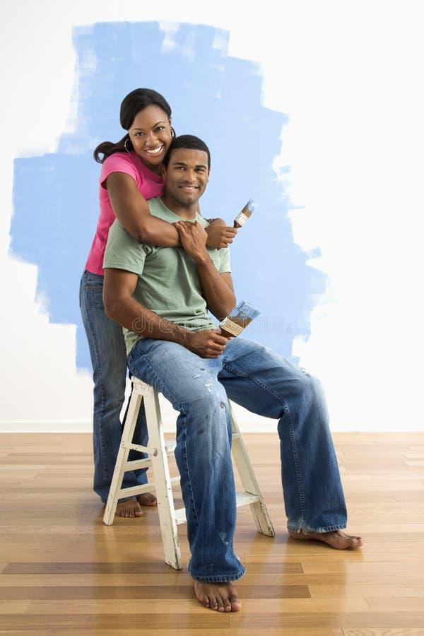 szczęśliwa para razem zdjęcie stock