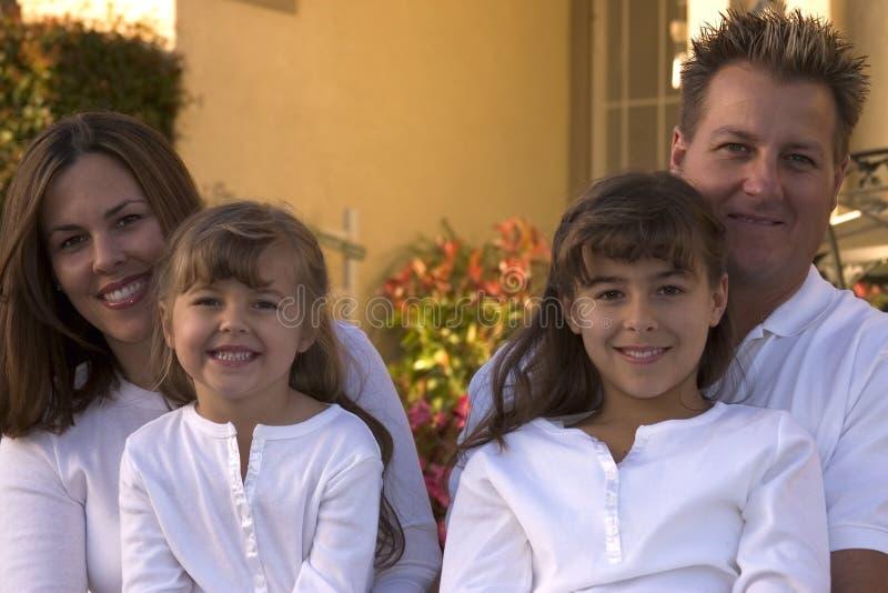szczęśliwa rodzina obrazy stock