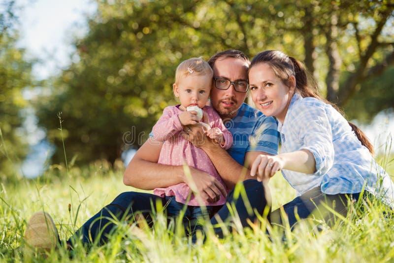 Download Szczęśliwa rodzina natury obraz stock. Obraz złożonej z matka - 65225265