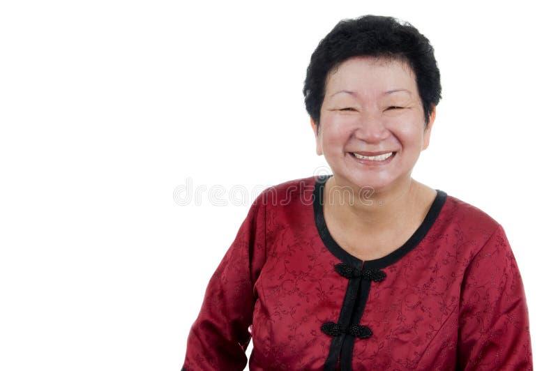 szczęśliwa starsza kobieta obrazy royalty free