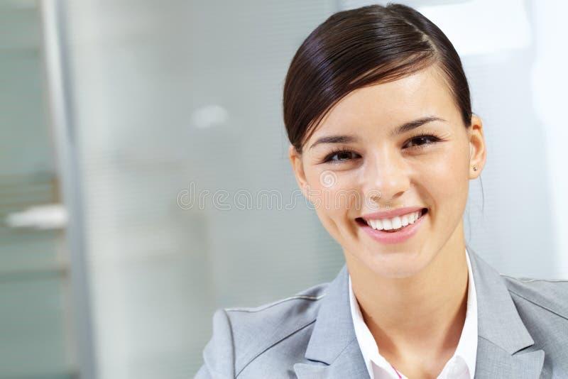 szczęśliwa szef twarz zdjęcia royalty free