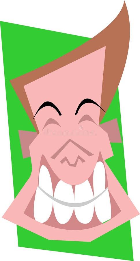 szczęśliwa twarz ilustracja wektor