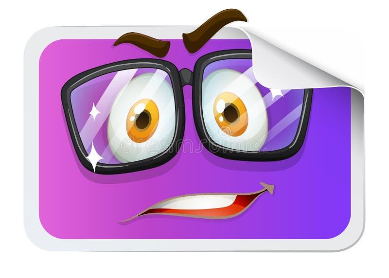 Download Szczęśliwa Twarz Na Majcherze Ilustracja Wektor - Ilustracja złożonej z obrazek, uczucia: 57658211