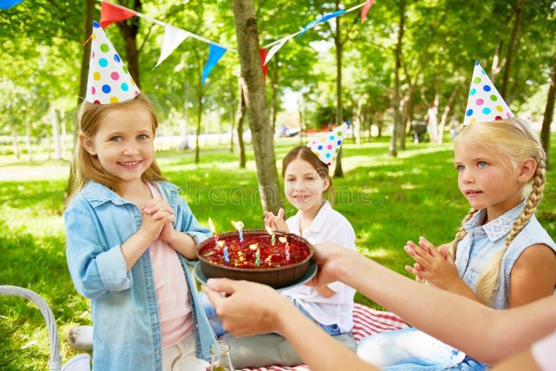 szczęśliwa urodzinowy zdjęcia royalty free
