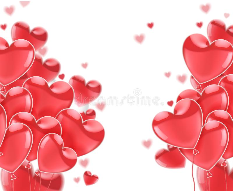szczęśliwe dni valentines E również zwrócić corel ilustracji wektora ilustracji