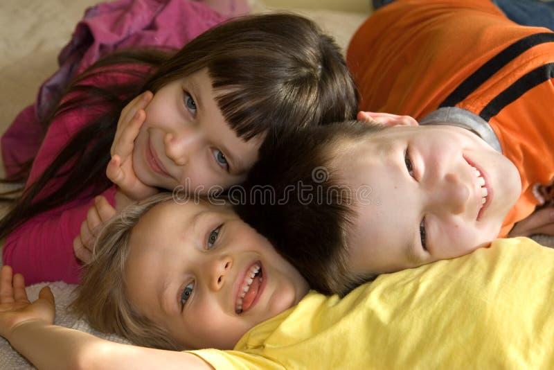 szczęśliwe dzieci obrazy stock