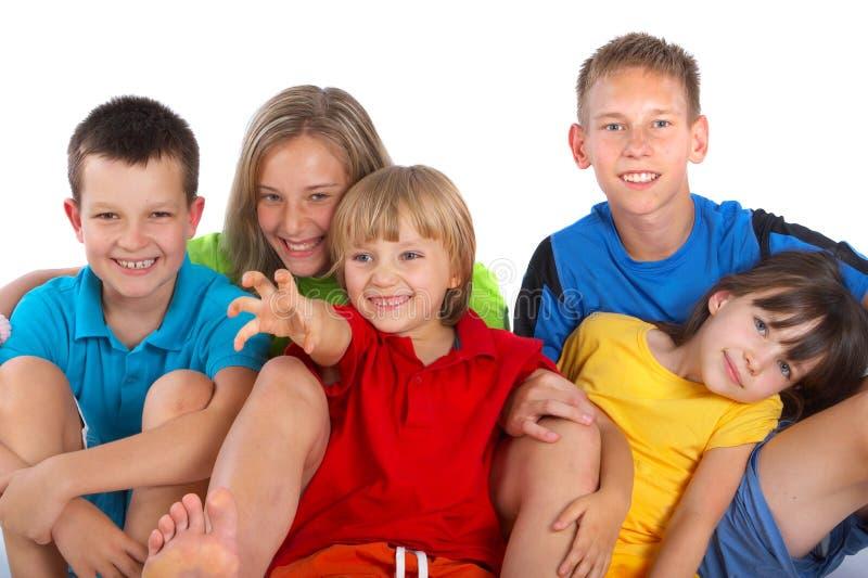 szczęśliwe dzieci zdjęcia stock
