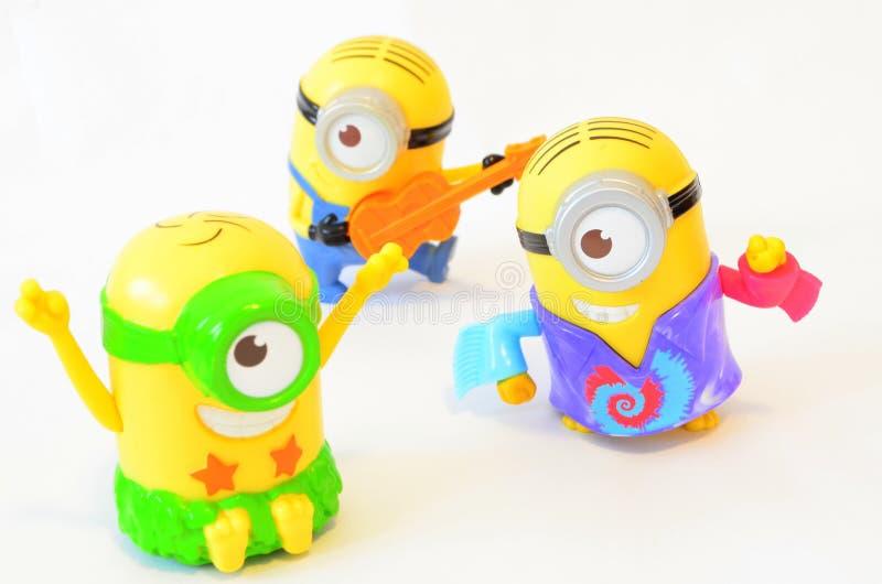 Szczęśliwe kolonel zabawki zdjęcia stock