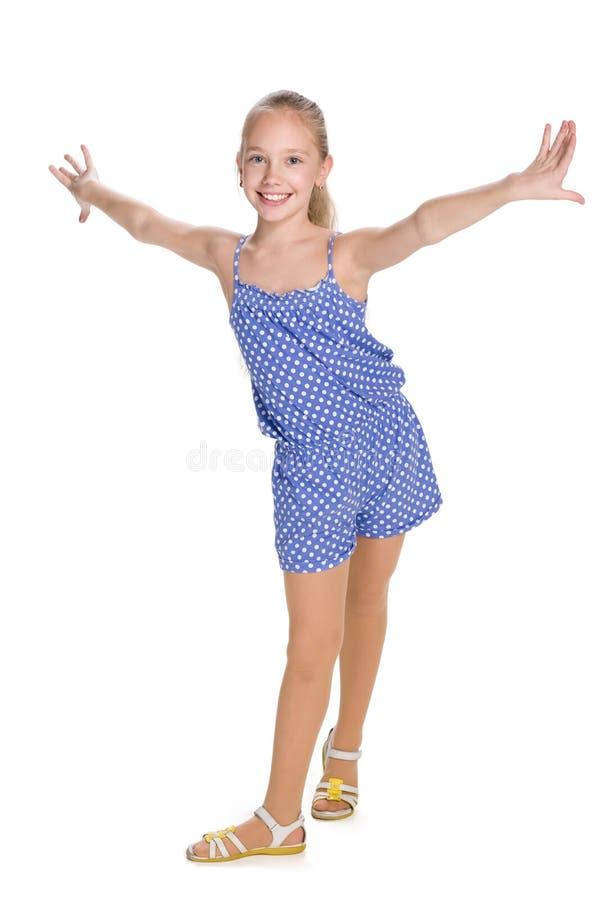 szczęśliwe młode dziewczyny fotografia stock