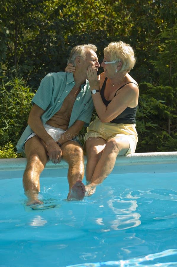 szczęśliwe par starsze osoby zdjęcia royalty free