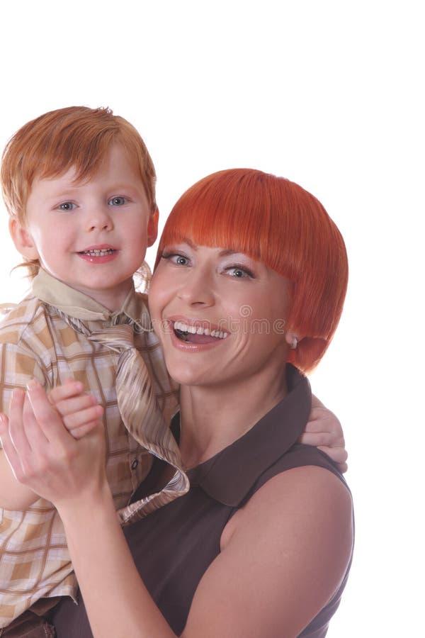 szczęśliwe rudzielec obraz royalty free
