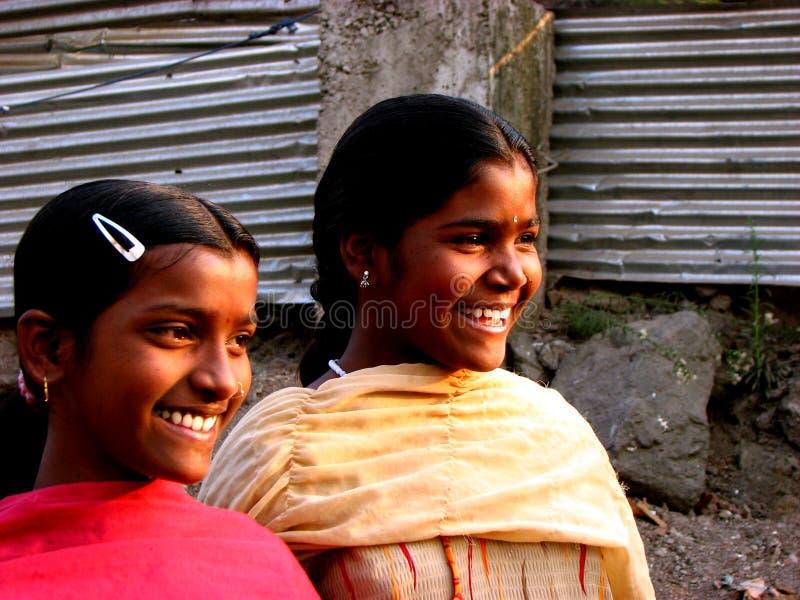 szczęśliwe siostry obraz stock