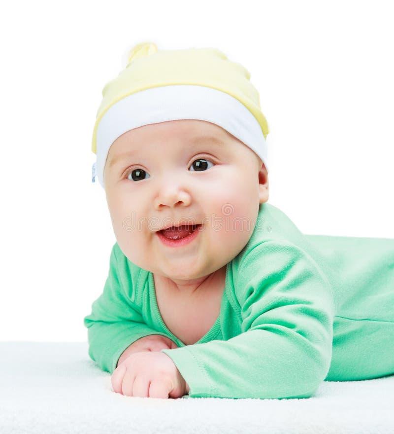 szczęśliwego dziecka się uśmiecha zdjęcia royalty free