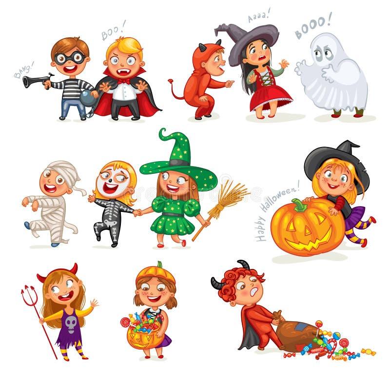 szczęśliwego halloween royalty ilustracja