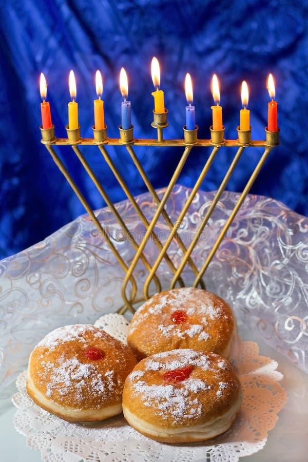 szczęśliwego hanukkah zdjęcie royalty free