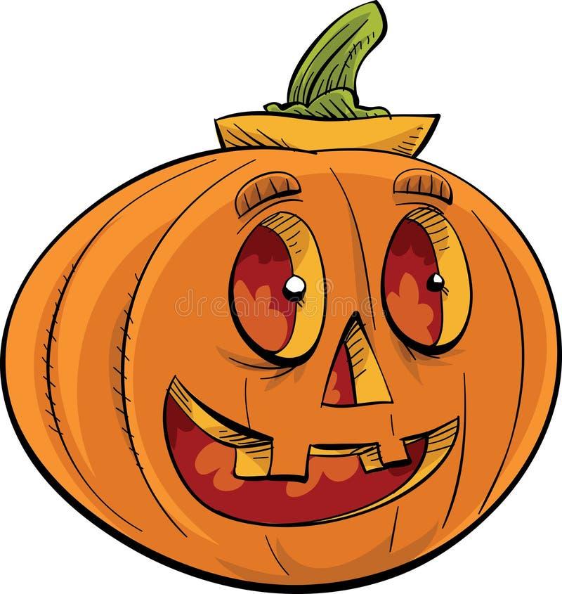 Szczęśliwego Jack 'O lampion ilustracja wektor
