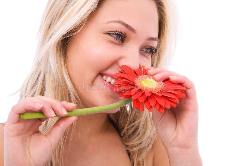szczęśliwego kwiaty obraz royalty free