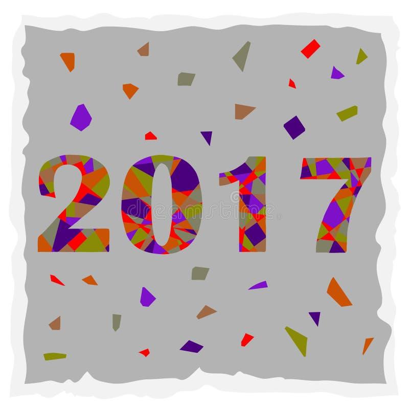 szczęśliwego nowego roku, royalty ilustracja