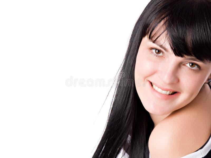 szczęśliwego portreta uśmiechnięci kobiety potomstwa fotografia royalty free
