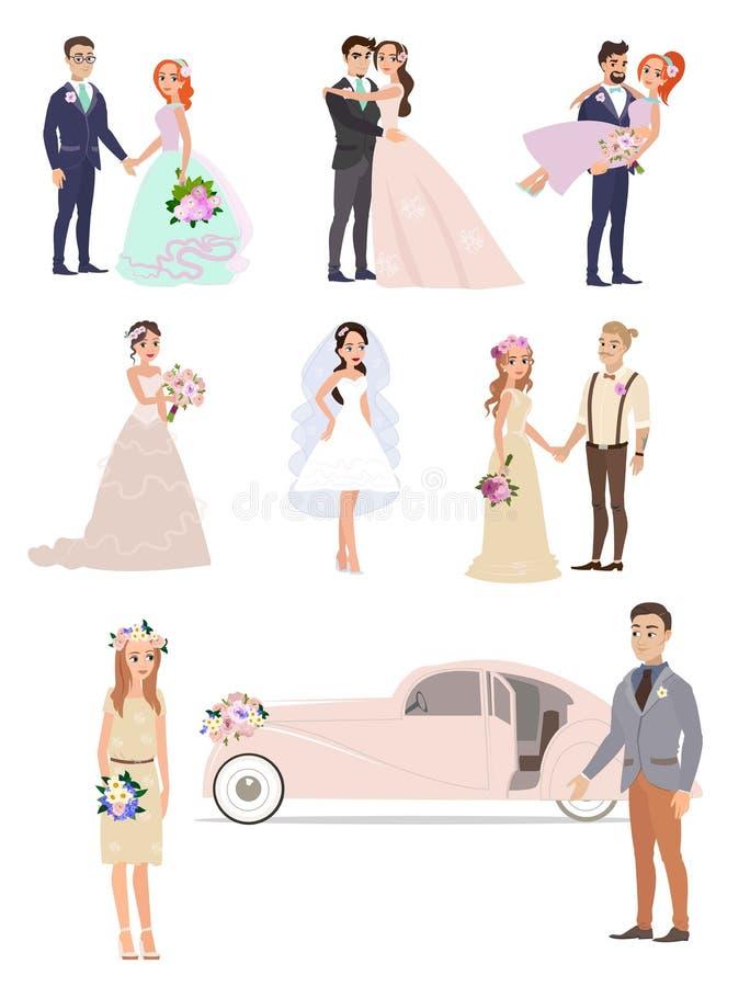Szczęśliwi dni w twój życiu ilustracji
