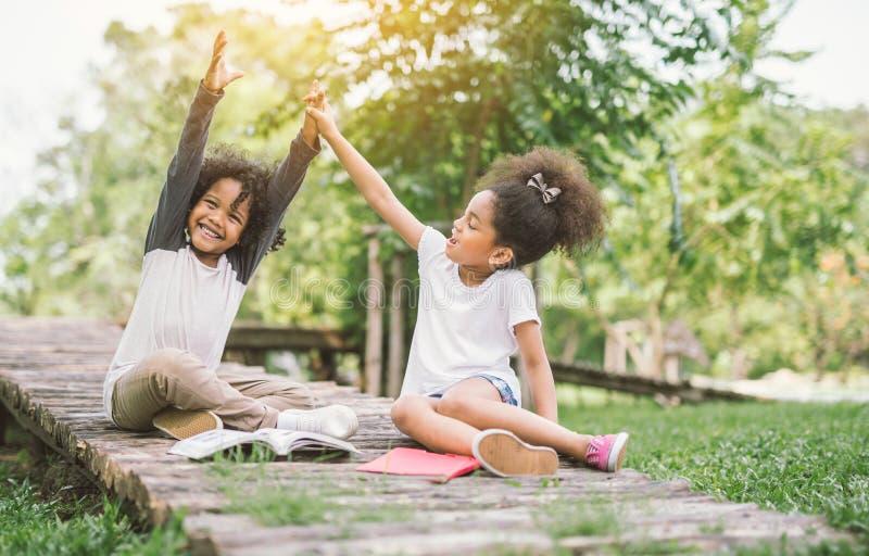 Szczęśliwi dzieci obrazy stock