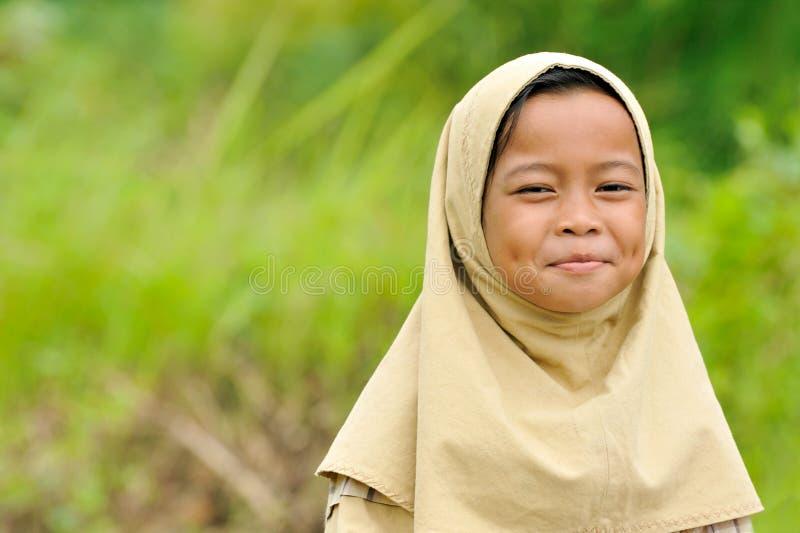 szczęśliwi dziewczyn muslim zdjęcia royalty free