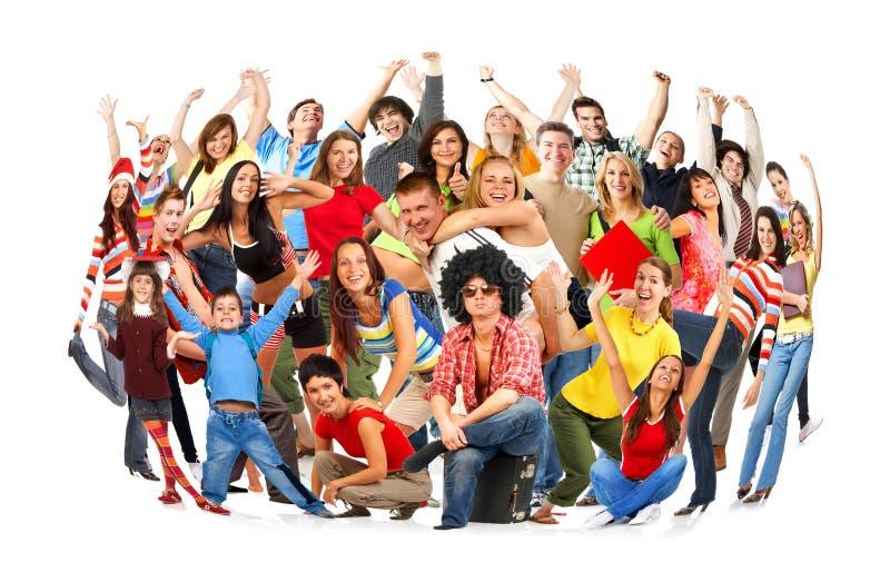 szczęśliwi ludzie zdjęcia stock