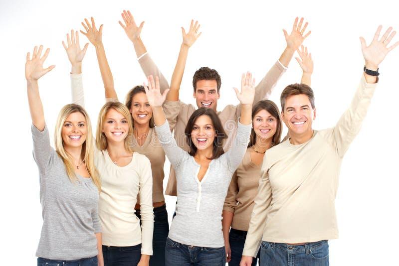 szczęśliwi ludzie zdjęcia royalty free