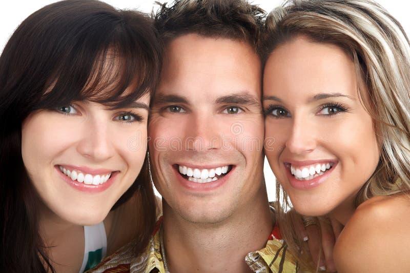 szczęśliwi ludzie zdjęcie royalty free