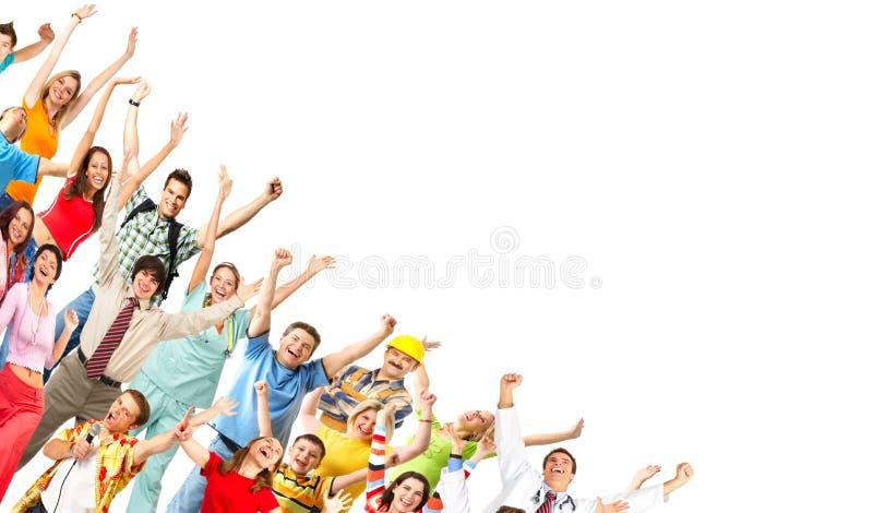 szczęśliwi ludzie obrazy royalty free