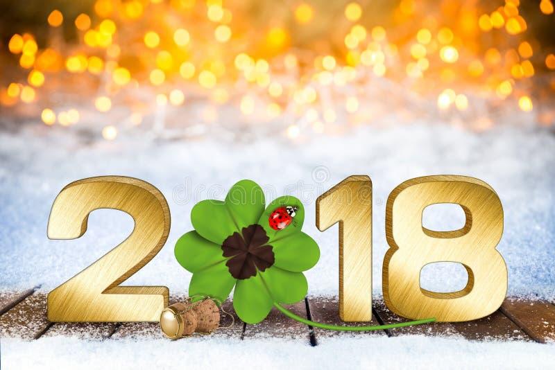 Szczęśliwi nowy rok wigilii silvester tła zdjęcia stock