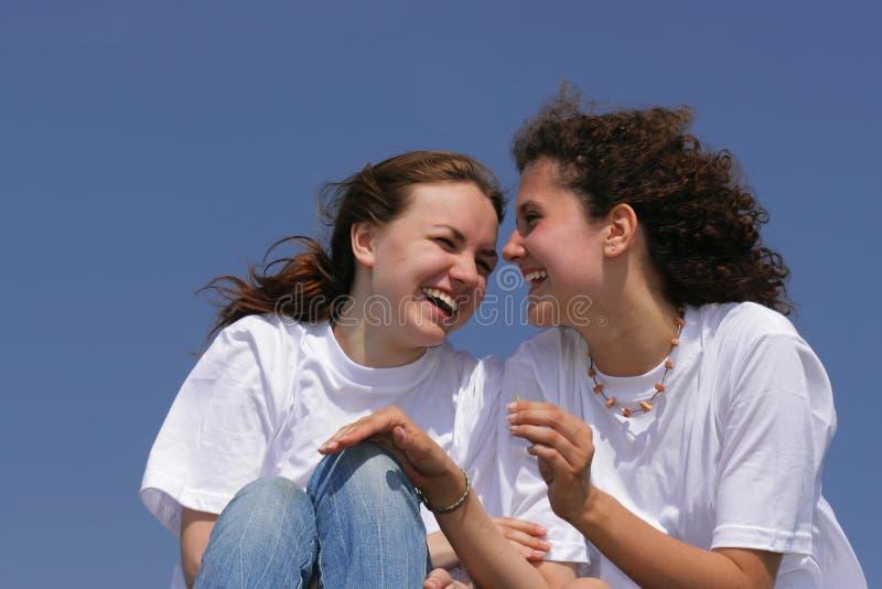 szczęśliwi przyjaciele obrazy royalty free