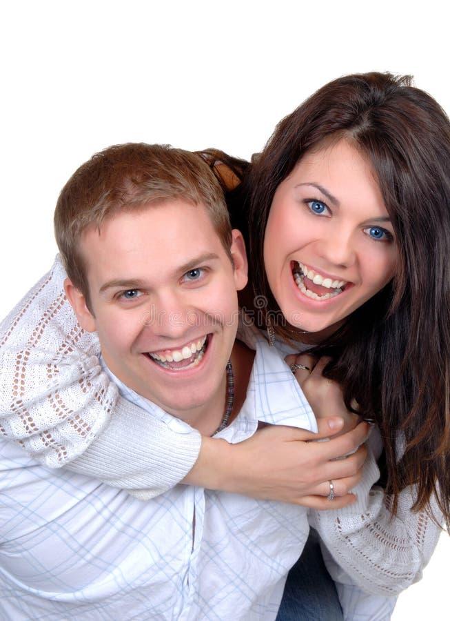 szczęśliwi razem zdjęcie stock