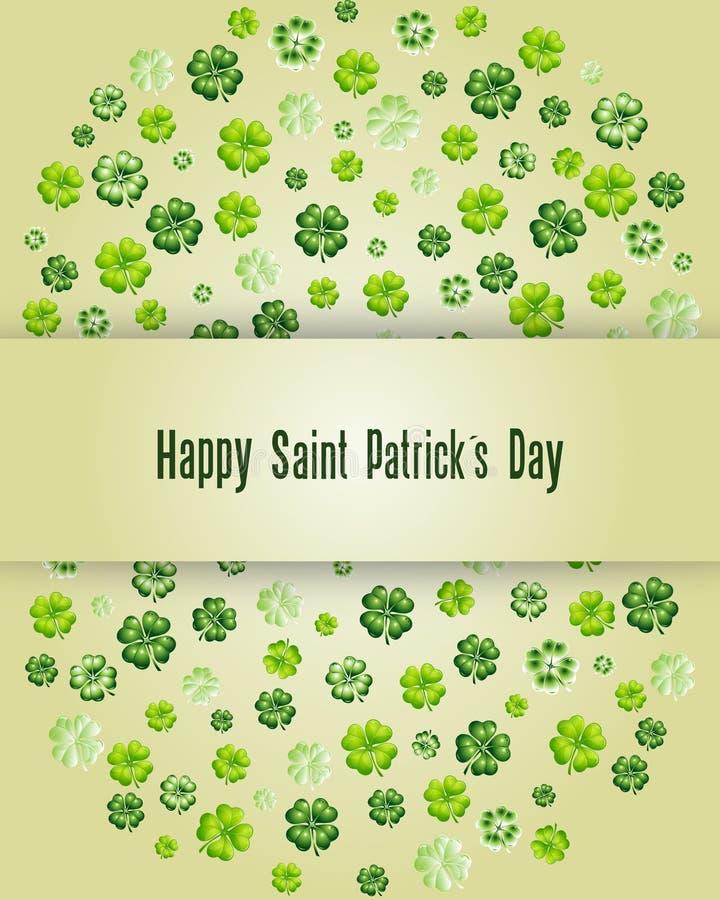 Szczęśliwy świętego Patrick dzień zdjęcia royalty free